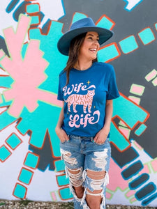 Wife Life Tiger Boutique Soft Tee