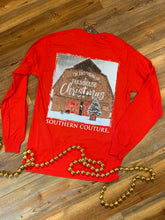 Load image into Gallery viewer, Dreaming Of A Farmhouse Christmas Tee - Long Sleeve