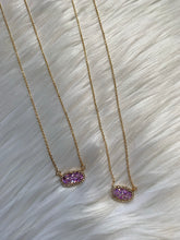 Load image into Gallery viewer, Glitter Dainty Necklace - Purple
