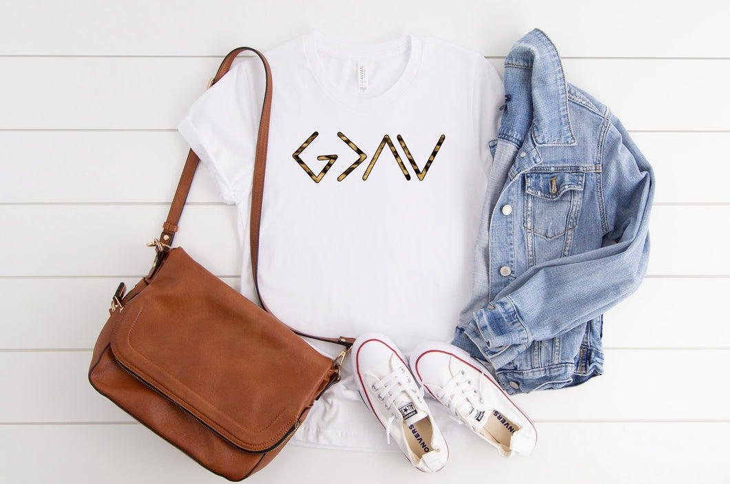 God is Greater Than the Highs & Lows Tee