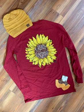 Preorder - Create Your Own Sunshine Long Sleeve T-Shirt - IN STORE NOW!