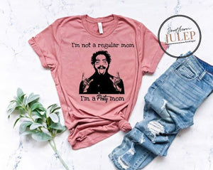 I'm A Posty Mom SS Boutique Tee - Custom Printed Preorder Tees