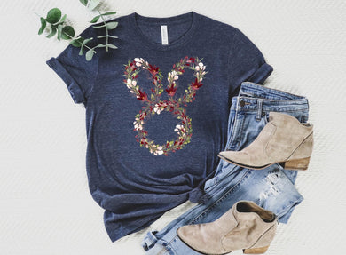PREORDER - Floral Easter Bunny Boutique Soft Tee