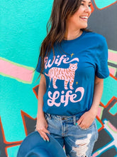 Load image into Gallery viewer, Wife Life Tiger Boutique Soft Tee