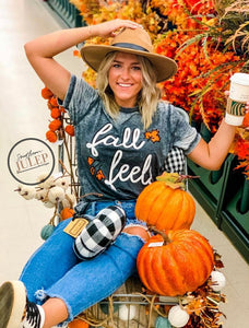 Fall Feels Burnout Boutique Tee