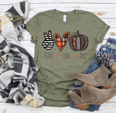 PREORDER - Peace Love Fall Boutique Soft Tee