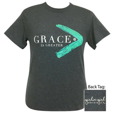 PREORDER - Grace Is Greater Short Sleeve Tee by Girlie Girl Originals