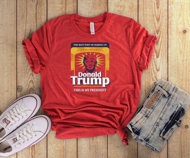 Trump My President Short Sleeve Tee - Custom Printed Preorder Tees