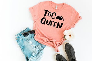 Southern Julep Taco Queen Soft Boutique Tee - Custom Printed Preorder Tees