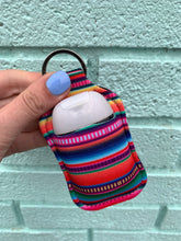 Load image into Gallery viewer, Serape Key Chain Hand Sanitizer Neoprene Holder - Also Available In Store