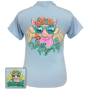 When Pigs Fly Southern Short Sleeve Tee