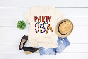 Southern Julep Party in the USA Patriotic Soft Tee