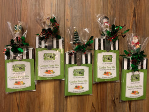 Raven's Nest Garden Party Christmas Gift Pack - Garden Party Mix Dip & Spreader