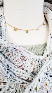 Dainty Mama Necklace - Gold or Silver