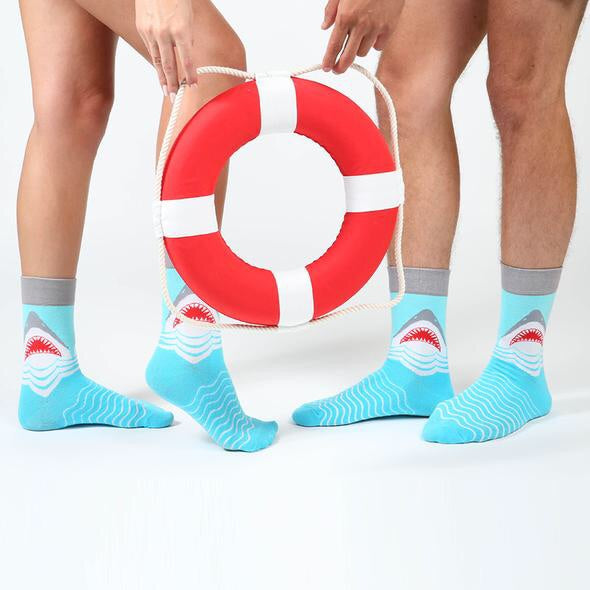 The Great White Shark Everyday Socks - Womens & Mens Sizes