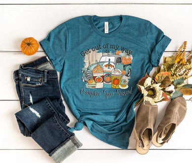 PREORDER - It's Pumpkin Spice Season Truck Boutique Soft Tee