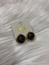 Load image into Gallery viewer, Jeweled Stud Earrings - Smoke