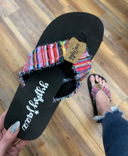 Load image into Gallery viewer, Gypsy Jazz Gjazz Pink Multicolor Flip Flop Sandal - In Stock Now
