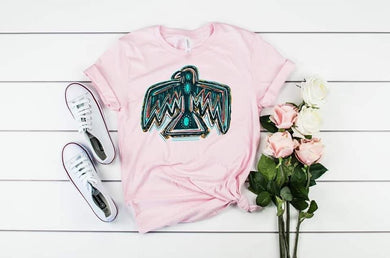 PREORDER - Western Turquoise Thunderbird Boutique Soft Tee