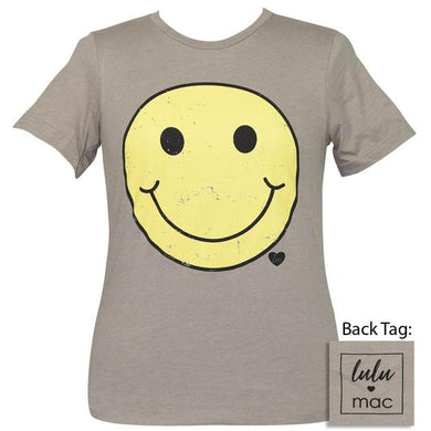 Retro Smiley Face Boutique Soft SS Tee