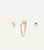 CHARLIE Earrings Set Gold
