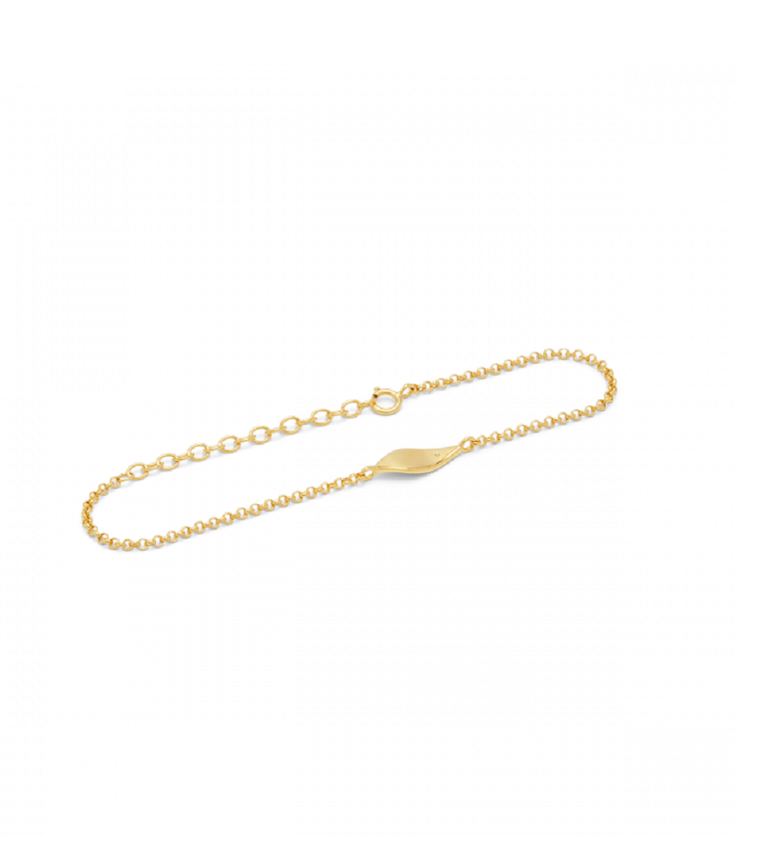 Raw Diamond 0204 Bracelet Gold
