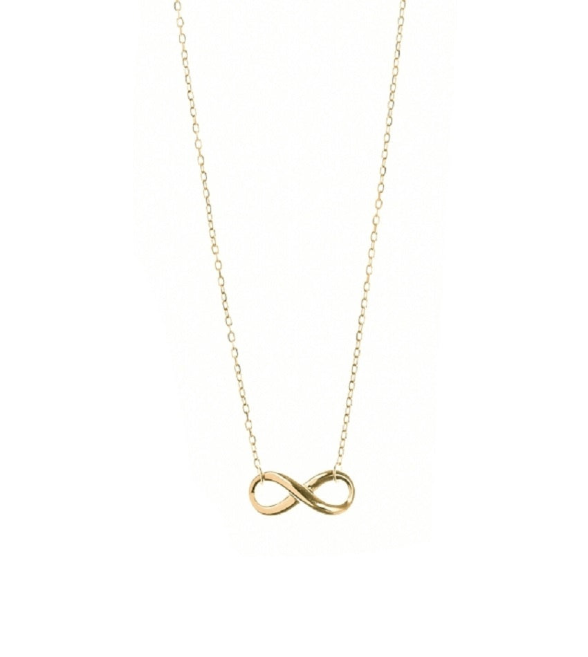 Infinity-love Gold Necklace