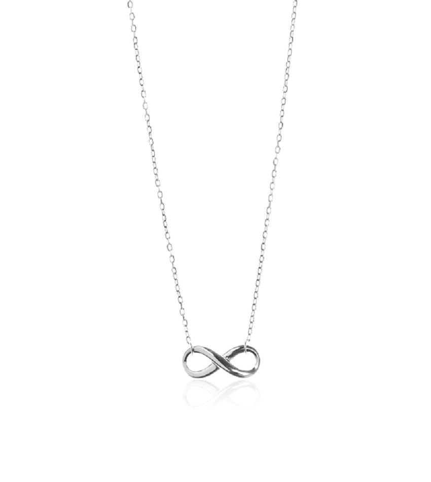 Infinity-love Silver Necklace