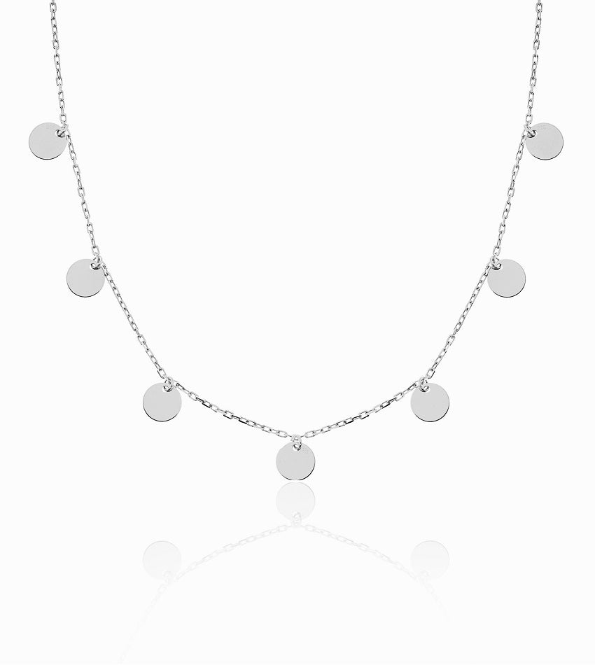 Coin Silver Chocker