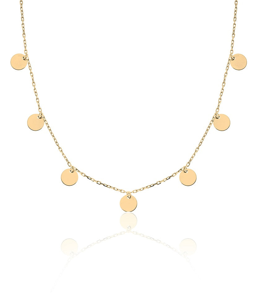 Coin Gold Chocker