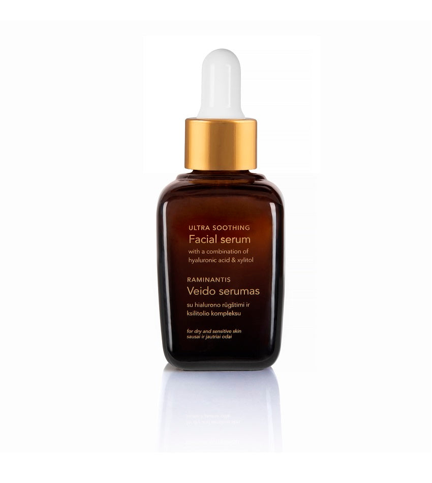 Soothing face serum with hyaluronic acid | SILENTIUM