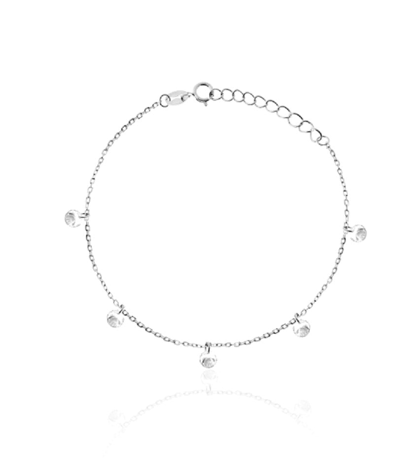 Diamonds Silver Bracelet