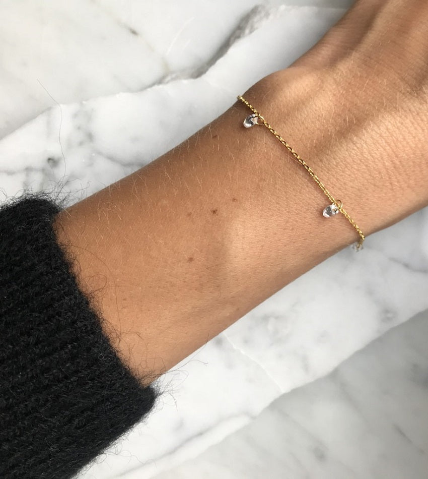 Diamonds Gold Bracelet