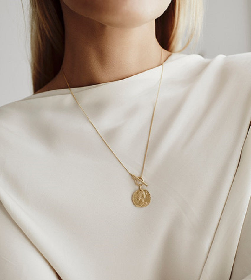 Romain Gold Necklace