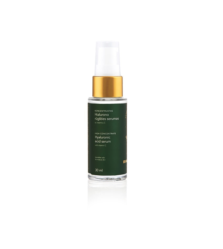High concentrate hyaluronic acid serum with vitamin C | MOMENTUM