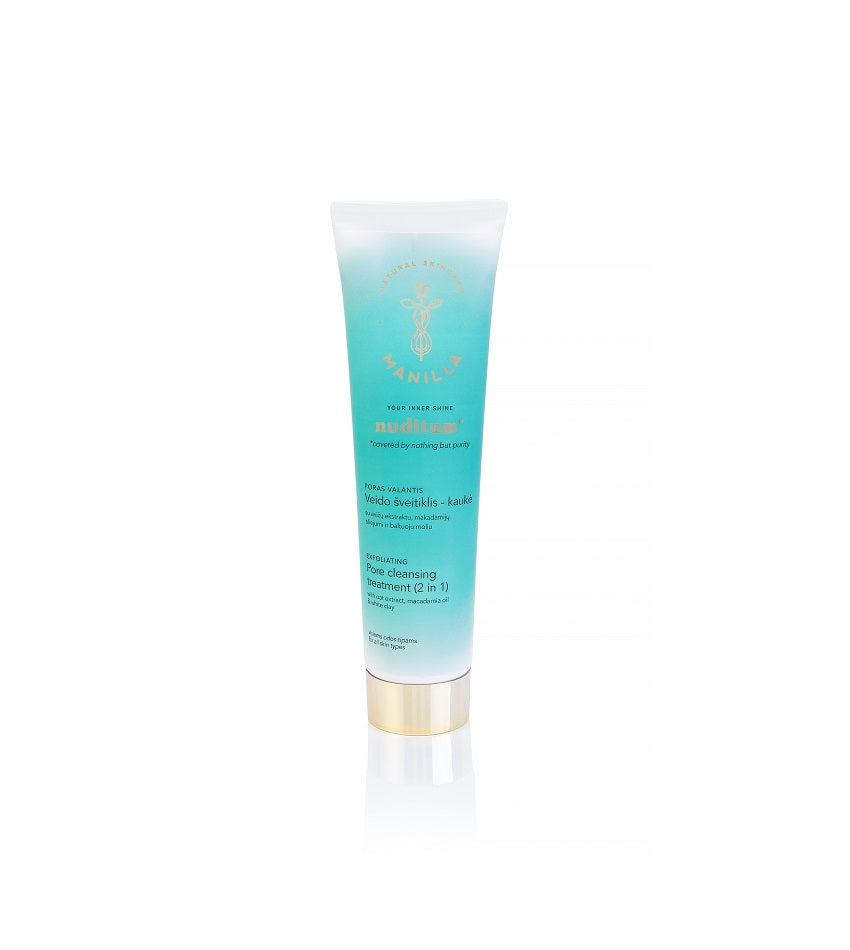 Pore cleansing scrub-mask 2 in 1 | NUDITUM