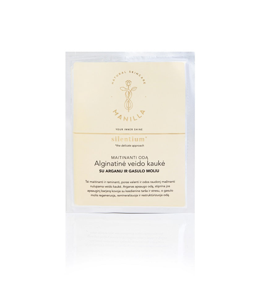 Nourishing alginate face mask | SILENTIUM