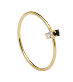 CARBON Ring Gold