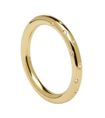 SATELLITE Gold Ring