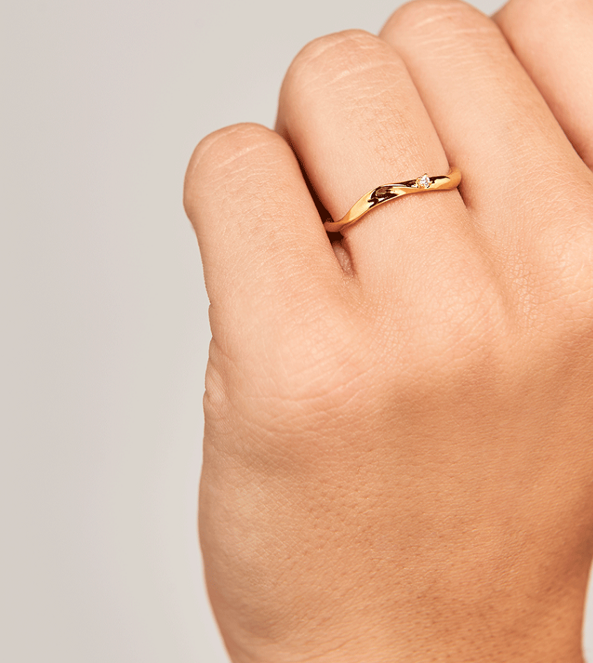 MIKA Ring Gold