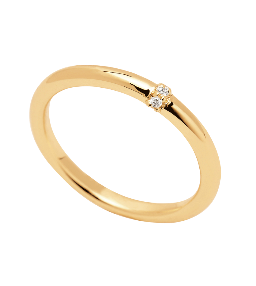HORIZON Gold Ring
