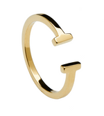 DOUBLE Ring Gold