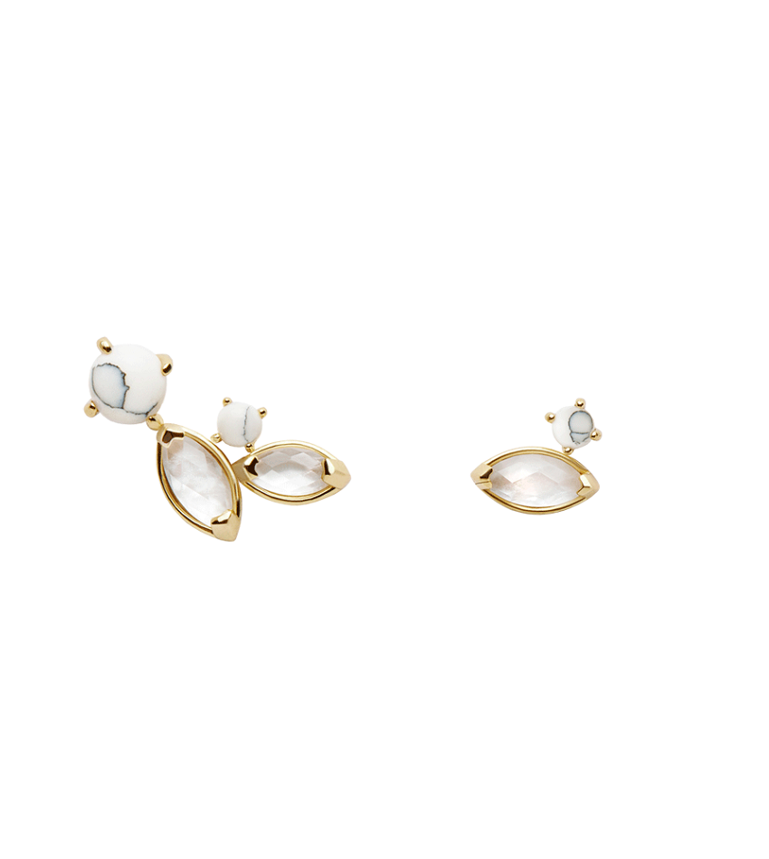 NAIA Earrings Gold