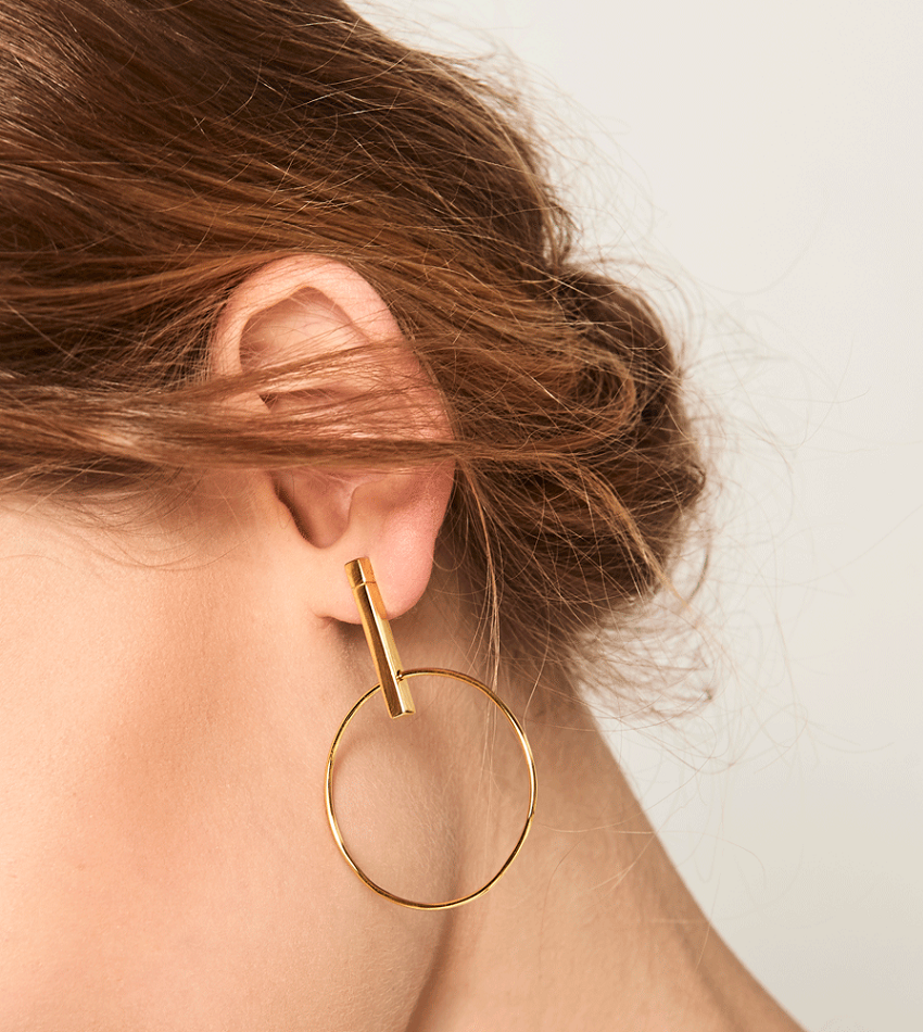 STUDIO Earrings Gold