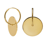 AMULETTO Earrings Gold