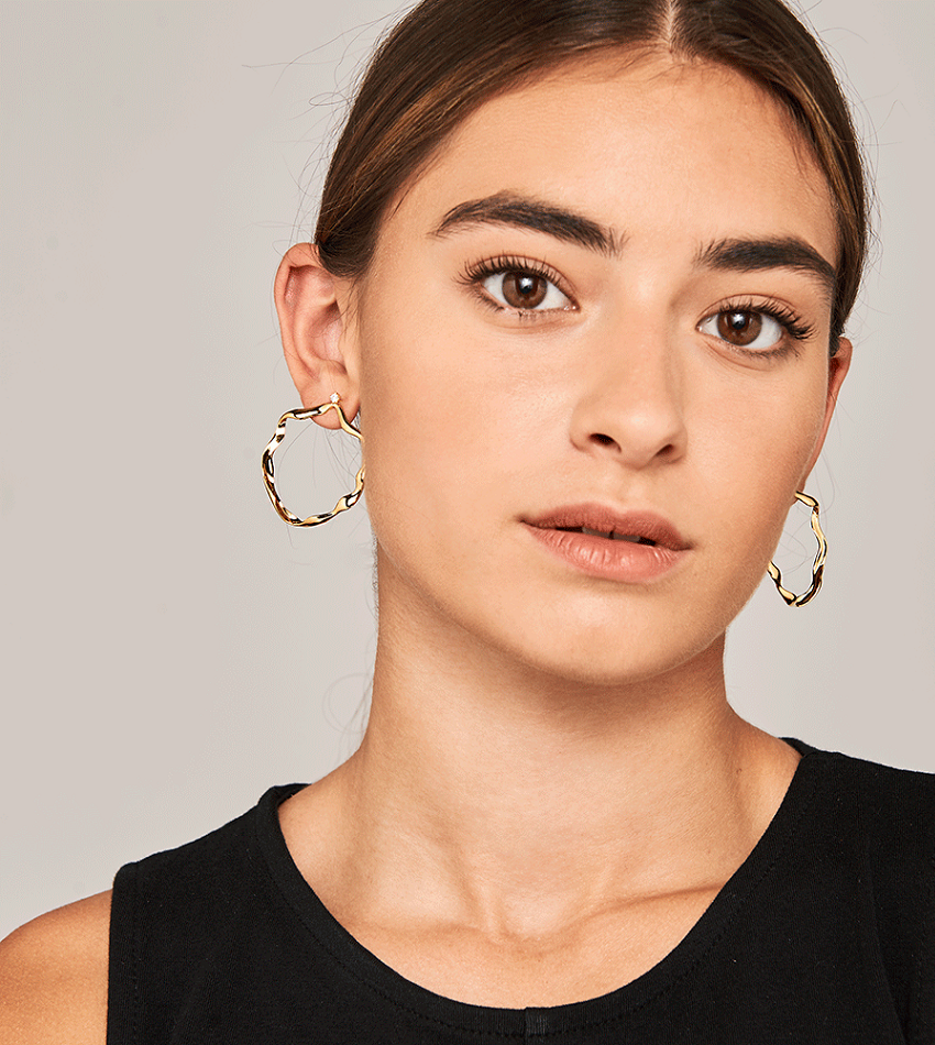 AKARI Earrings Gold