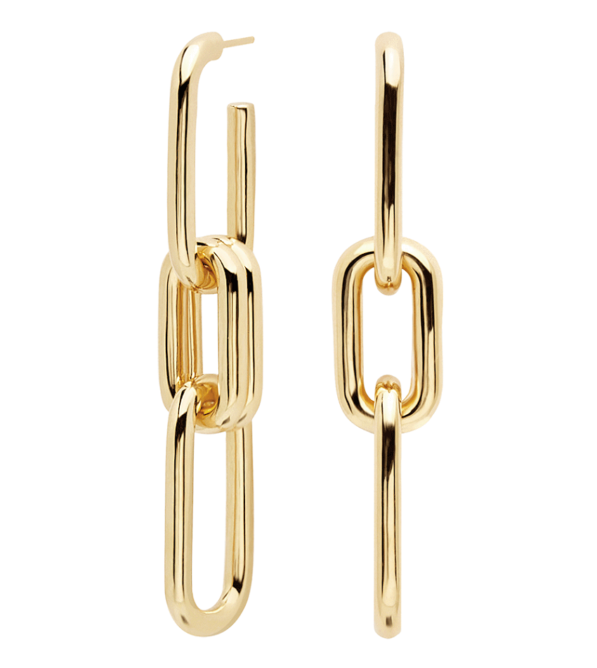 MUZE Earrings Gold