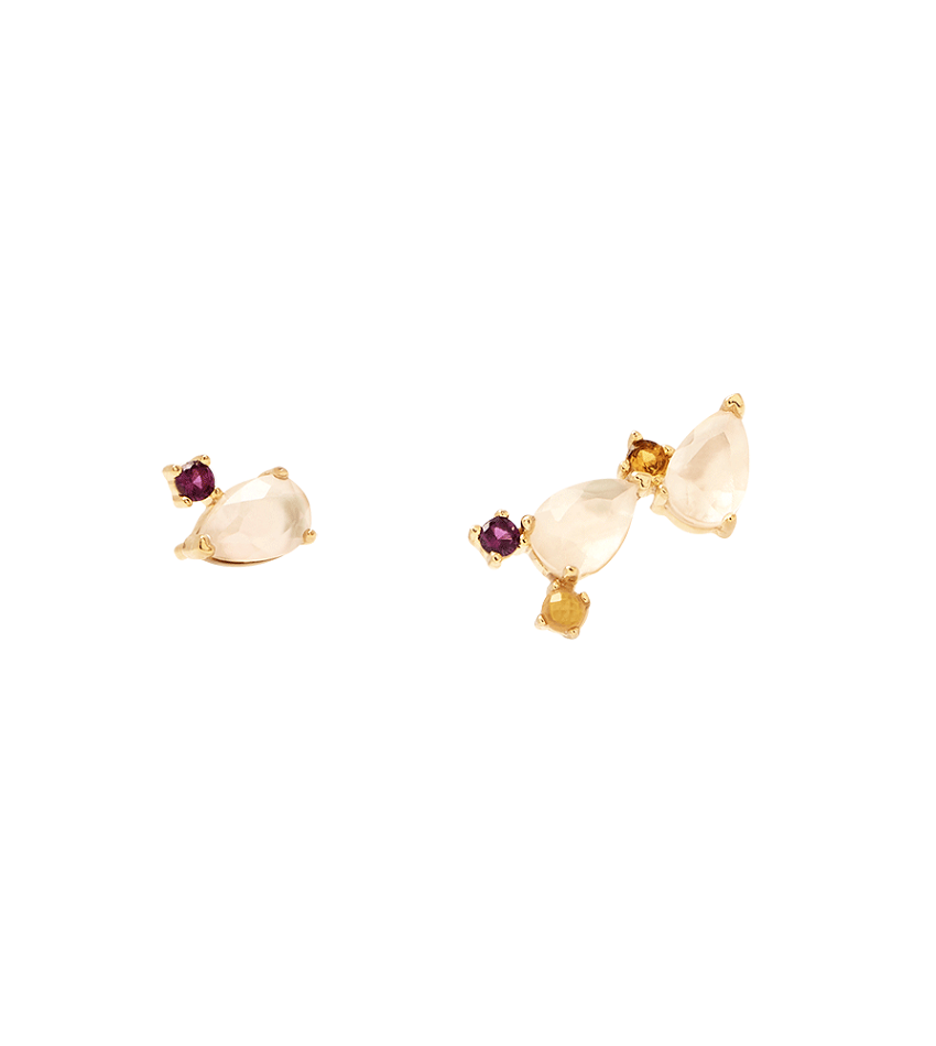 CITRIC PETITE Earrings Gold