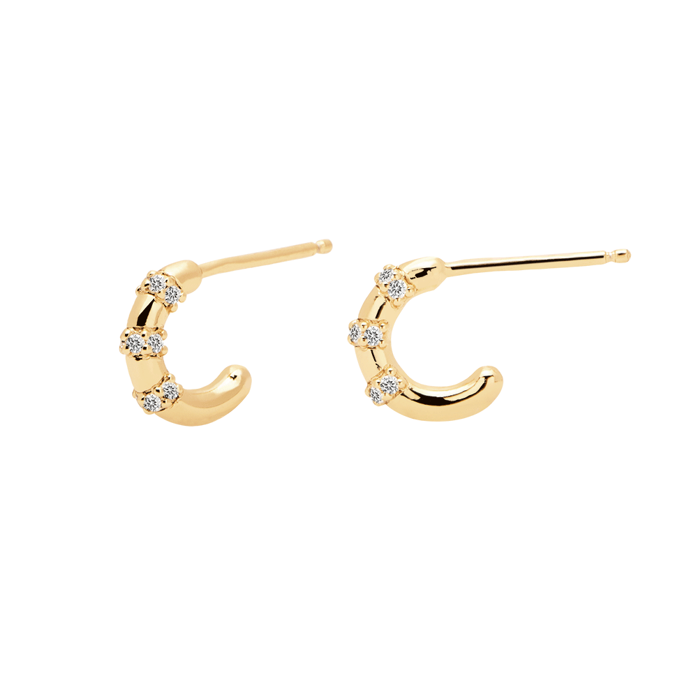 BELLA Earrings Gold