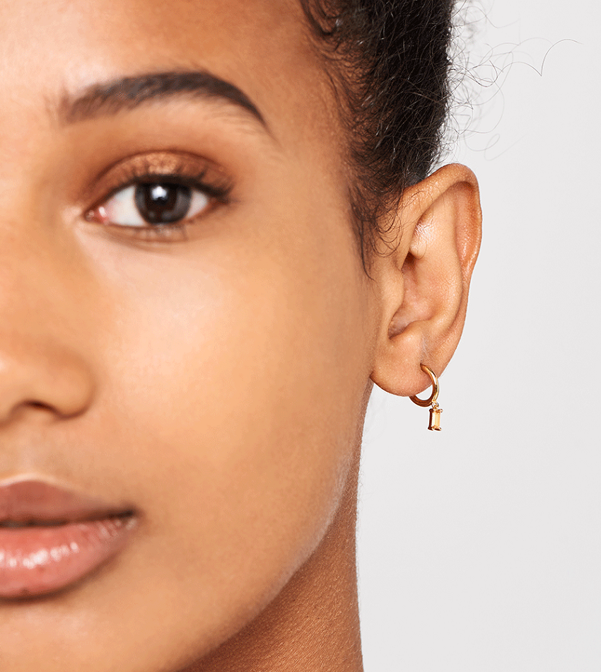 Peach Alia Earrings